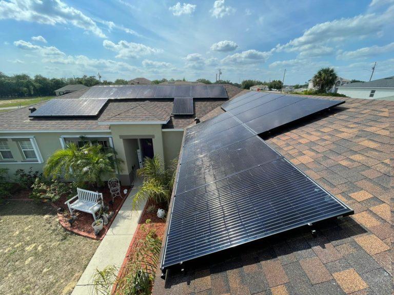 Jacksonville Residential Solar Energy Array System